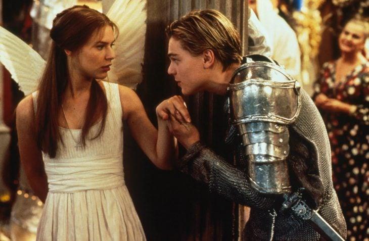 escena de la película Romeo y Julieta