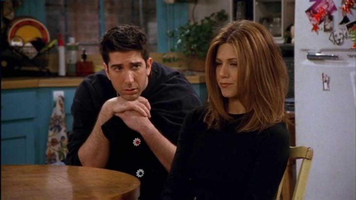 escena de la serie Friends