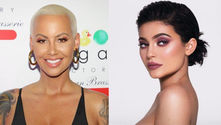 Pelea entre amber rose y kylie Jenner