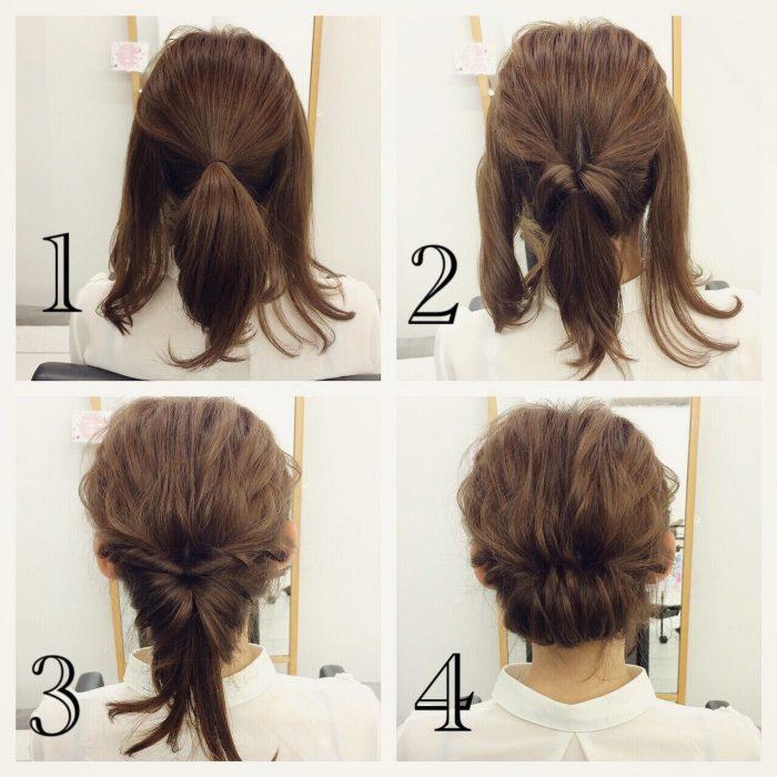 Tutorial para hacer un chongo con cabello corto