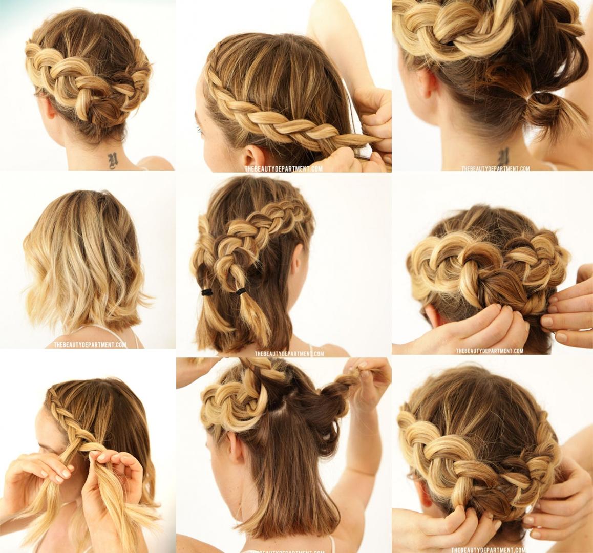 15 Peinados Para Melenas Que Te Daran Un Look Con Estilo - Peinados-para-melenas-cortas