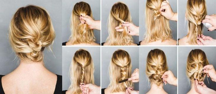 Tutorial de peinado con trenza para cabellos de melena