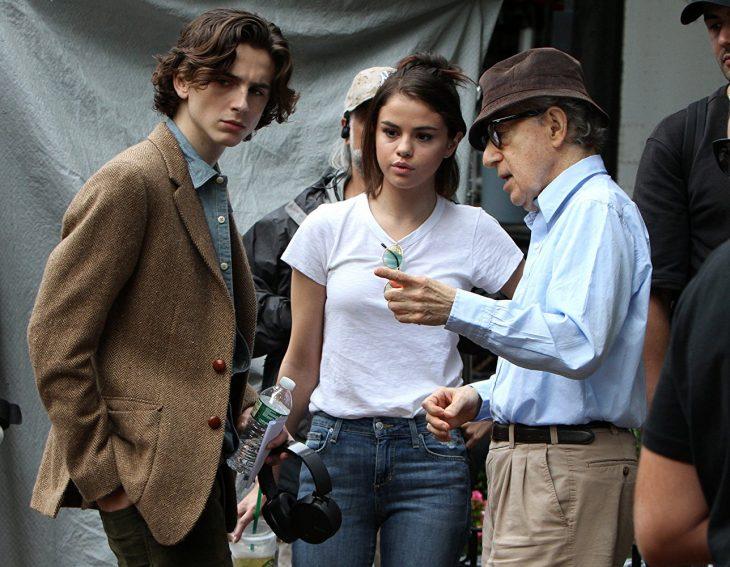 Detrás de cámaras de las próximas películas de Woody Allen