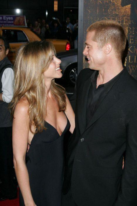 Jennifer aniston y brad pit en una relacion en el 2005