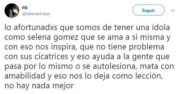 Tuits de Selena Gomez