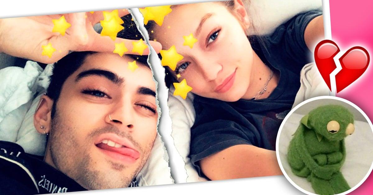 Después de dos años Zayn Malik y Gigi Hadid anunciaron el termino de su relación