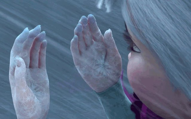 elsa manos frias