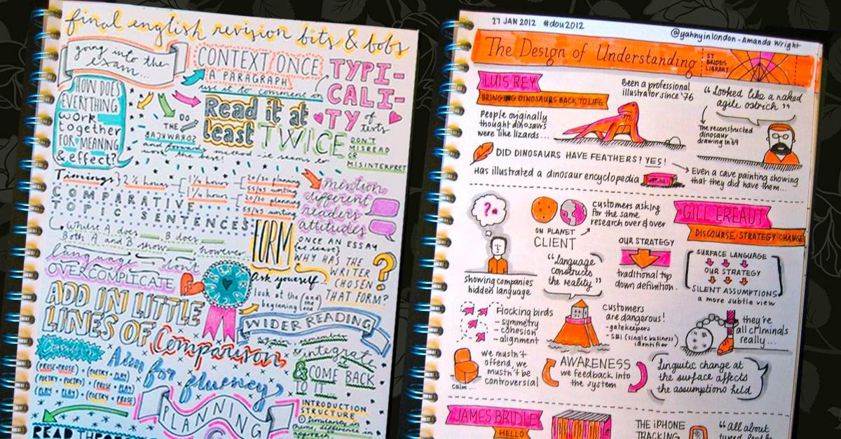 20 Encantadores Ideas Para Decorar Tus Apuntes Escolares