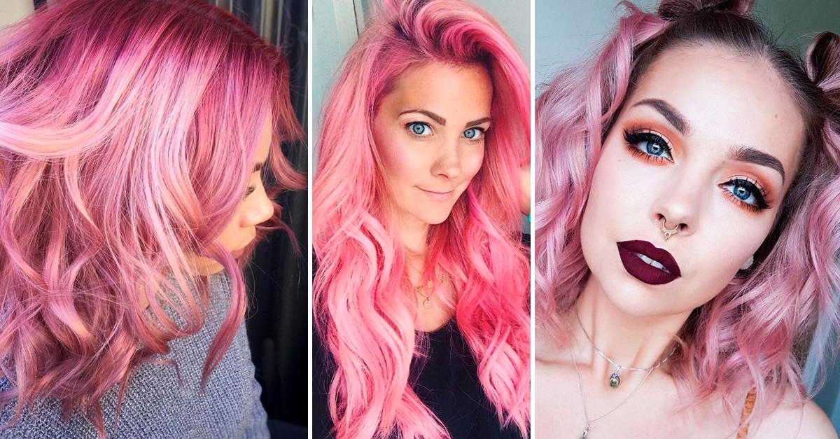 El bubblegum Hair es la nueva tendencia linda de Instagram