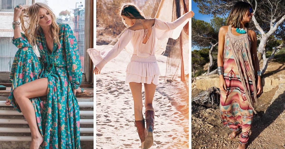 Vestidos estilo bohochic ideales para la temporada de calor