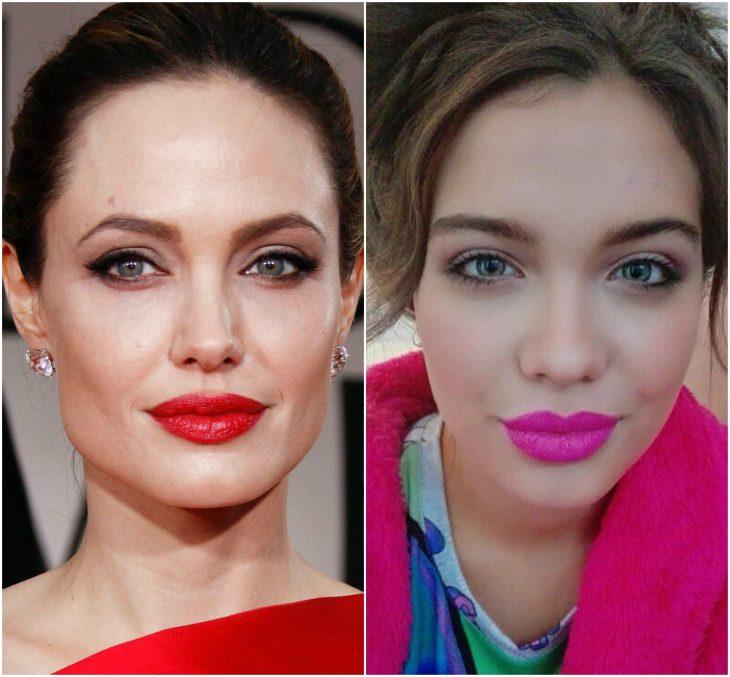 La copia de Angelina Jolie Malena NARVAY