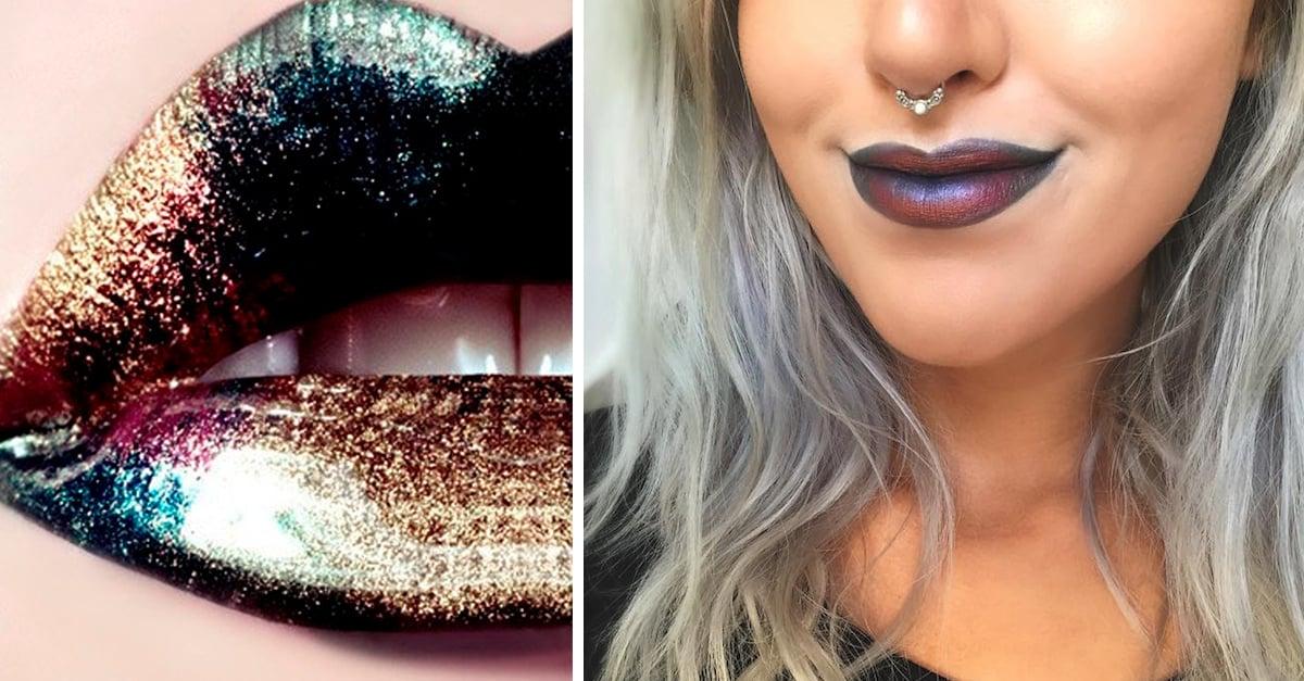 Los labios petróleo son la nueva tendencia de belleza