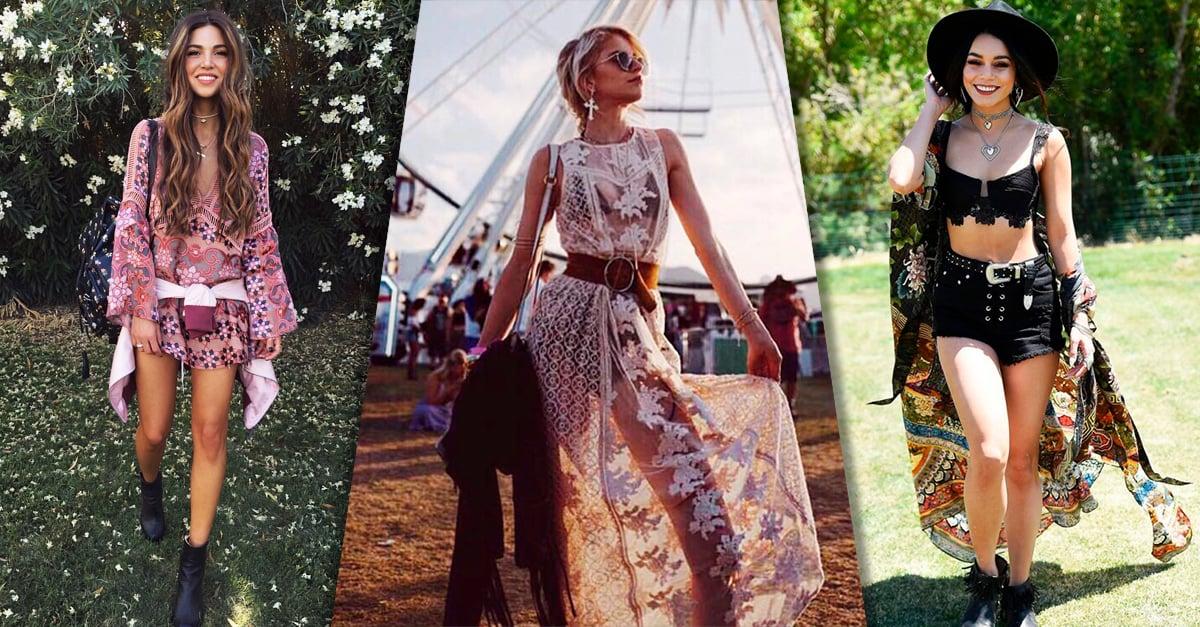 20 Looks para lucir como toda una princesa bohemia en tu próximo festival de música