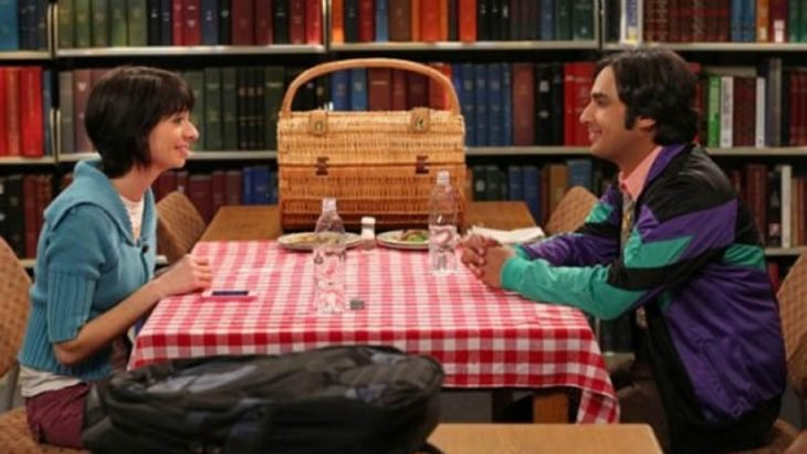 the big bang theory raj and girlfriend