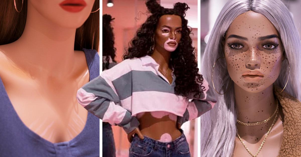 Esta marca está redefiniendo la belleza con sus maniquíes; tienen estrías y vitiligo