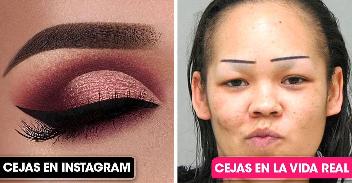 Maquillajes de Instagram vs Maquillaje de la vida real