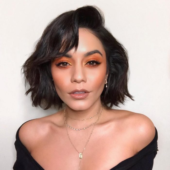 maquillaje de ojos para morenas vanessa hudgens