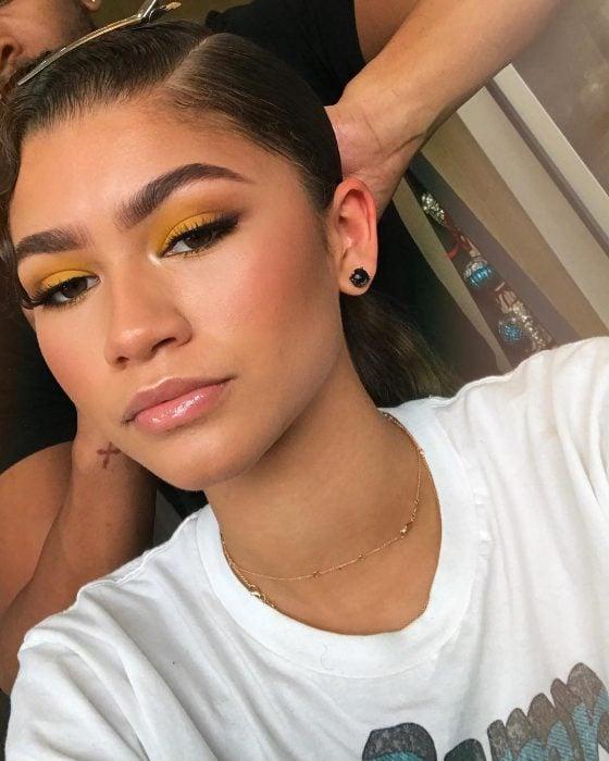maquillaje para morenas zendaya