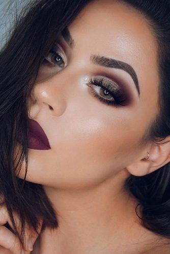 maquillaje de ojos para chicas morenas