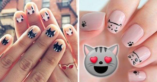 Uñas para amantes de los gatos