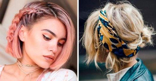 15 peinados para melenas que te ayudarán a tener un look lleno de estilo