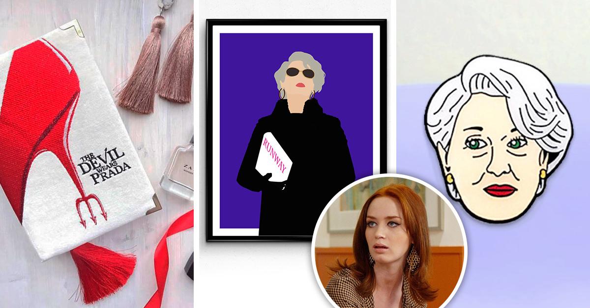 Obsequios ideales para las fanáticas de El diablo viste a la moda