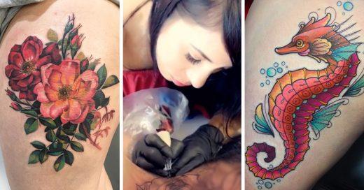 15 Tatuadoras latinas que te inspiran a decorar tu piel