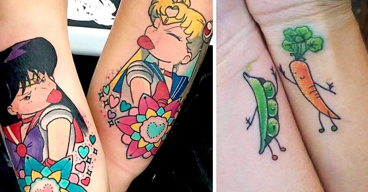 15 Tatuajes para que tú y tu bff sellen su amistad para siempre