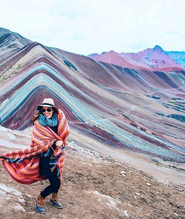chica viajera en perú