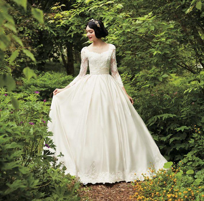 vestido de novia blanca nieves