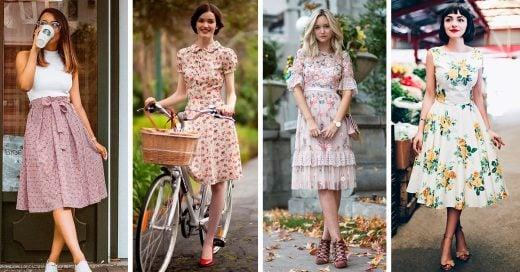 15 Maneras de llevar el estilo romántico en tus looks de primavera