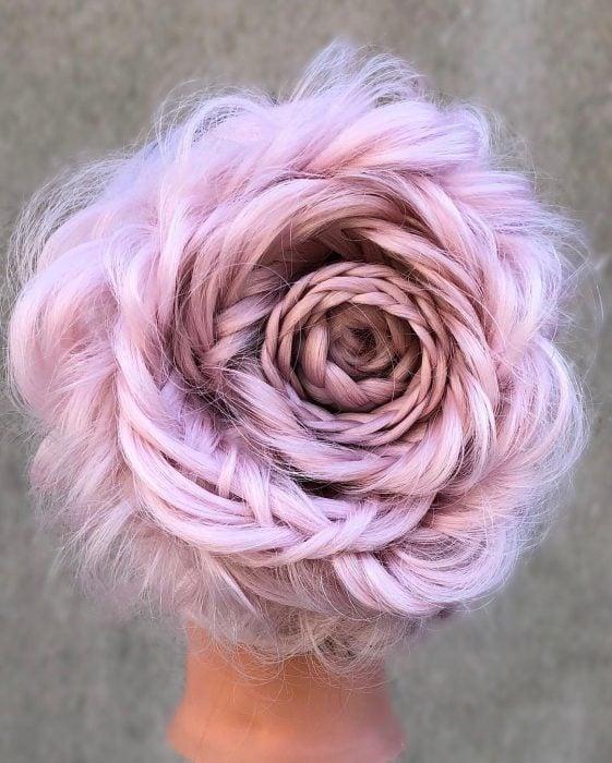 Rosas trenzadas