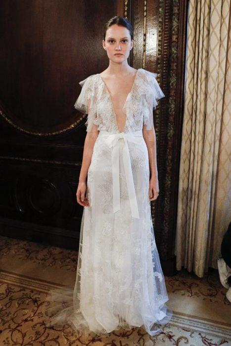 vestido de novia de monique lhuililer