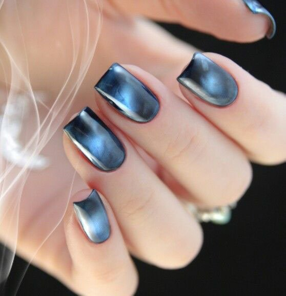 CAT EYE MANICURE azul