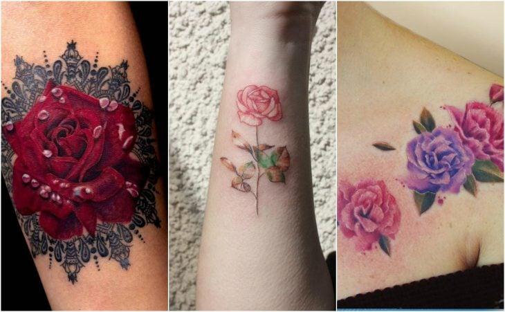 junio rosa tatuaje flor de nacimiento tattoo