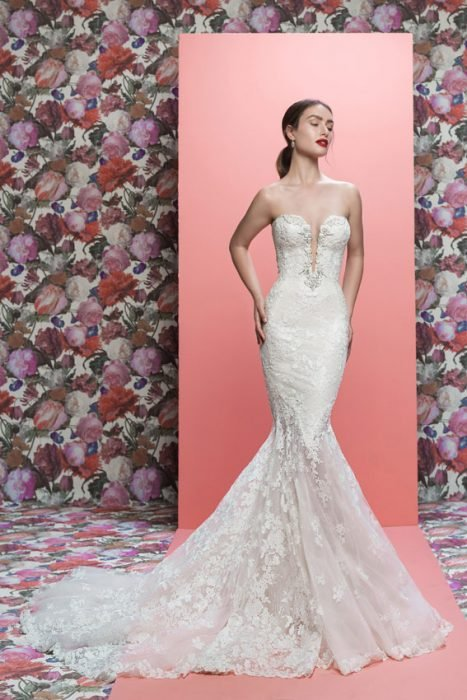vestidos de novia naked dress galia lahav