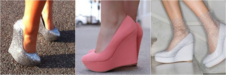 wedges como zapatilla