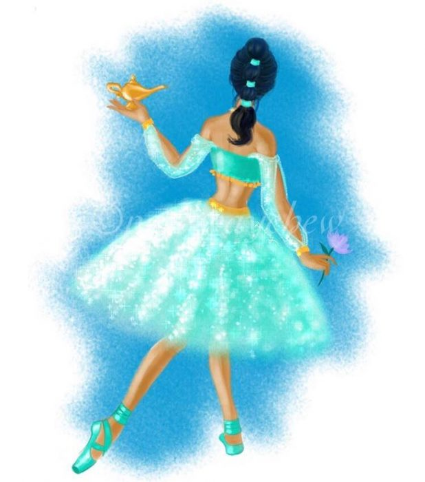 princesa bailarina jasmine