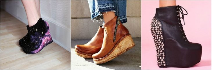 wedges trendy boots