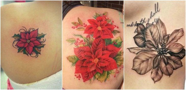 tatuaje de noche buena