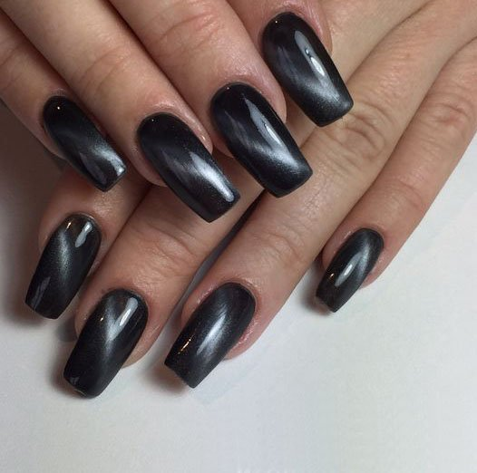 CAT EYE MANICURE negro