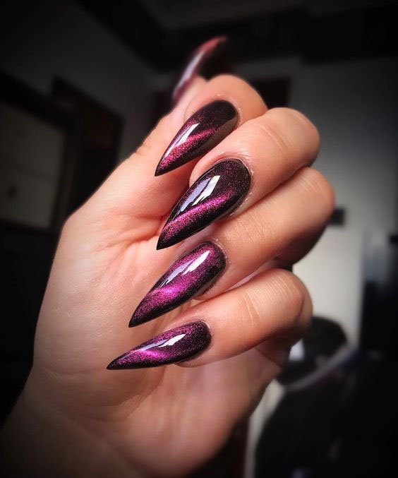 CAT EYE MANICURE magenta