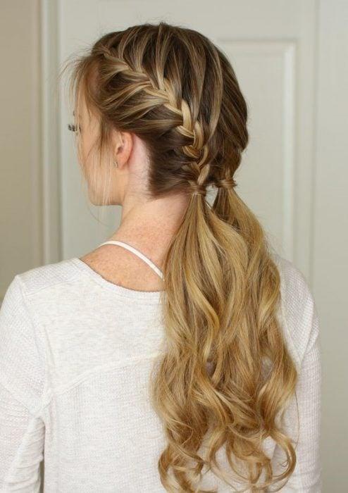 peinados para agarrarte el cabello