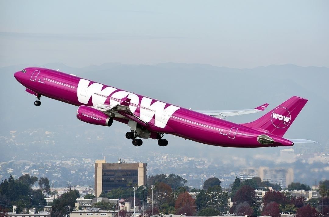 Resultado de imagen para aerolínea Wow Air