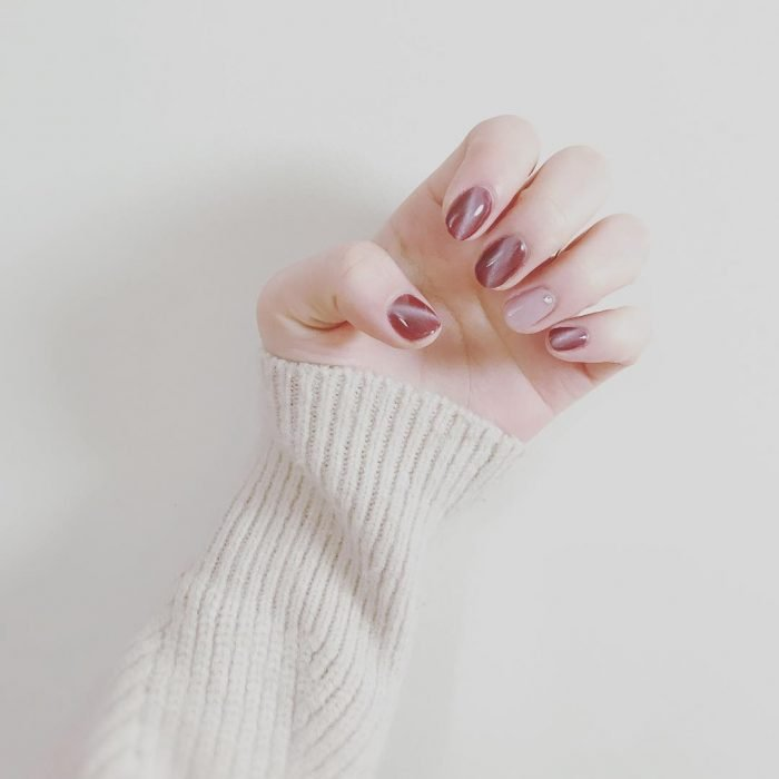 CAT EYE MANICURE manicure nude