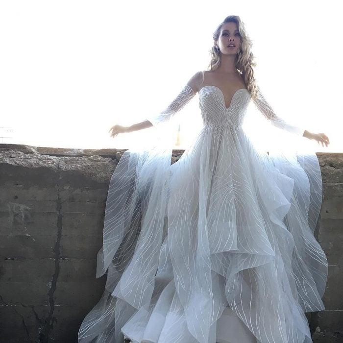 vestido de novia Hayley Paige 2018