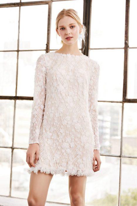 vestido de novia Tadashi Shoji 2018