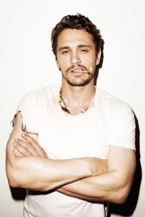 james franco on fire