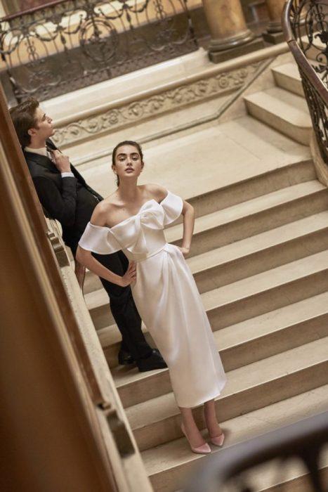 vestido de novia 2018 Carolina Herrera