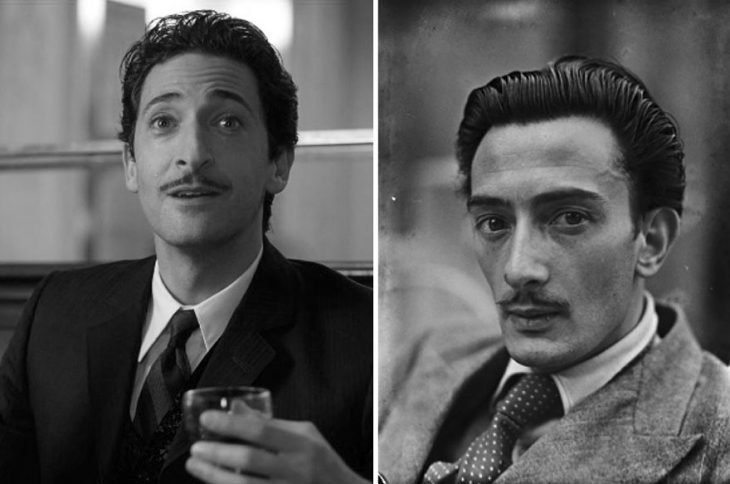 Adrien Brody como Salvador Dali en Midnight In Paris